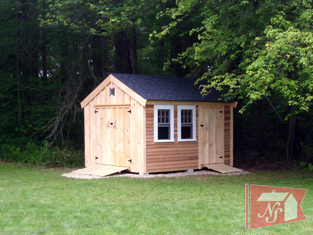 Nantucket sheds custom sheds garden sheds storage sheds for Garden shed designs