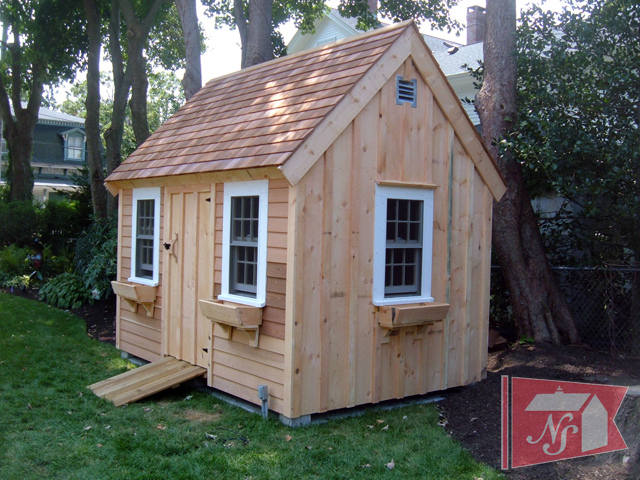 Nantucket sheds custom sheds garden sheds storage sheds for Shed designs with loft