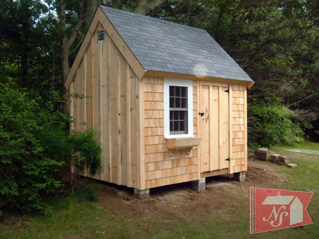 Charmant Custom Built Wooden Sheds, Garden Sheds, U0026 Storage Sheds By Nantucket Sheds