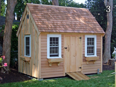 saltbox shed 3 - Garden Sheds Massachusetts